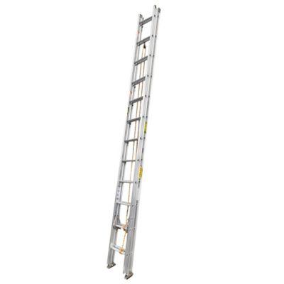 Escalera Certificada de Extension en Aluminio 24 Pasos 4.0 a 8mt Resistencia 136kg