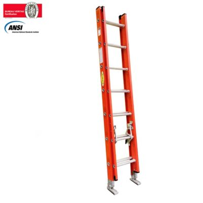 Escalera de Extension Dielectrica 2,50 -5,00 Metros de 136 Kilogramos de Resistencia
