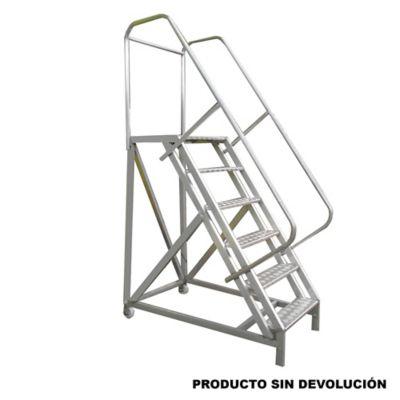 Escalera Tipo Avion en Aluminio 1,50 Metros de 136 Kilogramos de Resistencia