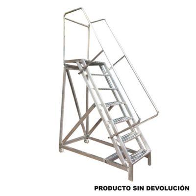 Escalera Tipo Avion en Aluminio 1,75 Metros de 136 Kilogramos de Resistencia