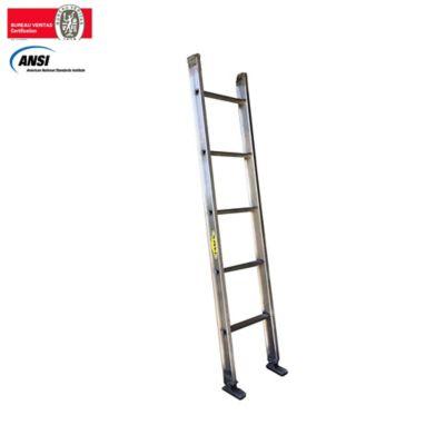 Escalera Certificada de Pared Aluminio 5 Pasos 1,50 Metros de 136 Kilogramos de Resistencia