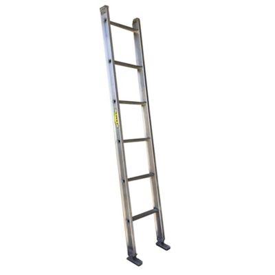 Escalera Pared Aluminio 2,00 Metros de 136 Kilogramos de Resistencia