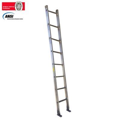 Escalera Pared Aluminio 2,50 Metros de 136 Kilogramos de Resistencia