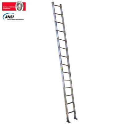 Escalera Pared Aluminio 5,00 Metros de 136 Kilogramos de Resistencia
