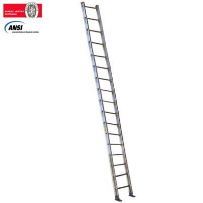 Escalera Certificada de Pared Aluminio 17 Pasos 6,00 Metros de 136 Kilogramos de Resistencia