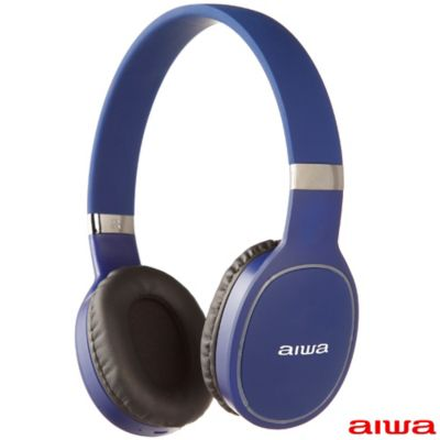 Audifonos On Ear Deportivos Bluetooth / Microfono Incorporado / Azul /  Aiwa