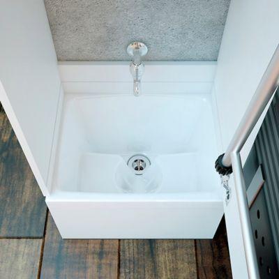 Mueble Para Lavatrapero Pro Canto 2mm 46x36 cm Blanco