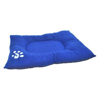 Colchón Deluxe para Perros 63 x 90 x 10 cm Azul