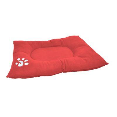 Colchón Deluxe para Perros 63 x 90 x 10 cm Rojo