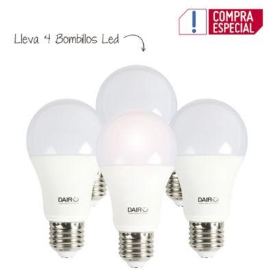Setx4 Bombillo Led 450 lúmenes 5.5w Luz Blanca