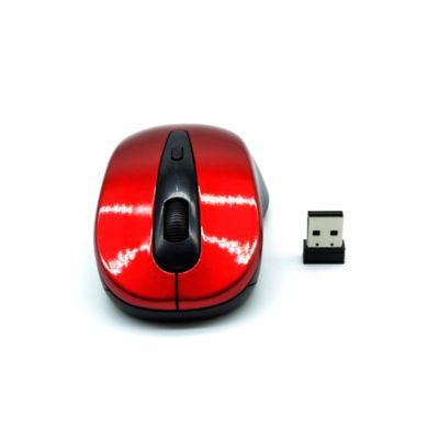 Mouse Inalambrico Curve 2.4G Scroll