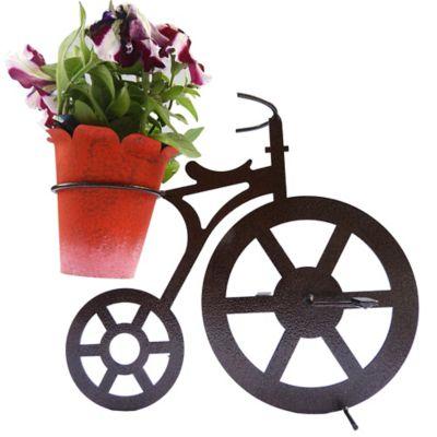 Bicicleta para Mesa 1 Matera Color Negro Hecho de Hierro