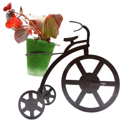 Triciclo para Mesa 1 Matera Color Negro Hecho de Hierro