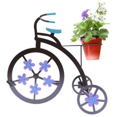 Triciclo para Piso 1 Matera Color Negro Hecho de Hierro