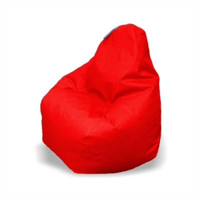 Puff Pera Classic en Tela Antifluido 120x120x130 Rojo