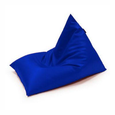Silla Puff Edge en Tela Antifluido 90x90x110 Azul Rey