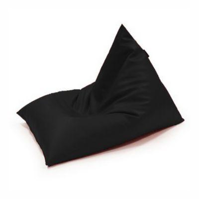 Silla Puff Edge en Tela Antifluido 140x140x160 Negro