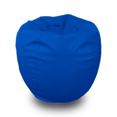 Puff Bubble en Antifluido de 90 cm x 90 cm x 80 cm Azul