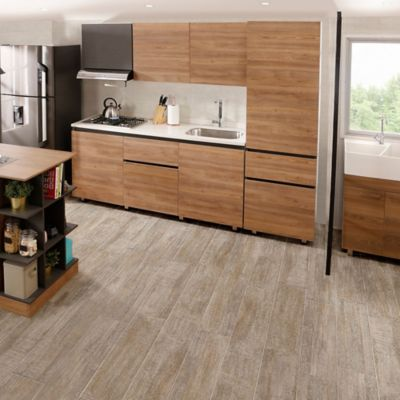 Cocina Integral Soho 1.80m 6 puertas 1 cajón Miel Incluye Mesón Derecho + lavaplatos + estufa empotrable + cubertero