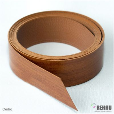 Canto Flexible 22 mm x 1 Mt Cedro