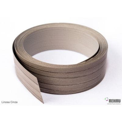 Canto Flexible 22 mm x 1 Mt Linosa Cinza
