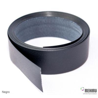 Canto Rigido 22 mm x 1 Mt Negro