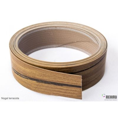Canto Flexible 22 mm x 1 Mt Nogal Terracota