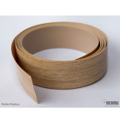 Canto Flexible 22 mm x 1 Mt Roble Rustico