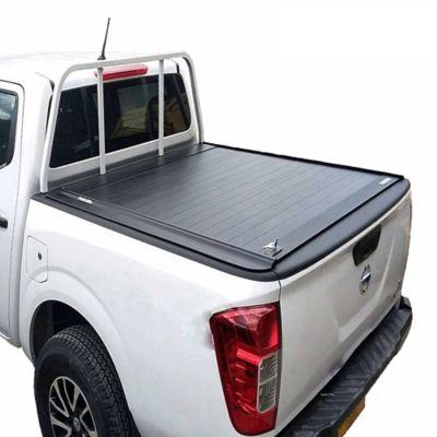 Cubierta en Aluminio para Nissan Np300 Doble Cabina Con Mini Barra Protector Vidrio Trasero / Platón 1.47 Mt Largo para Modelos 16-18