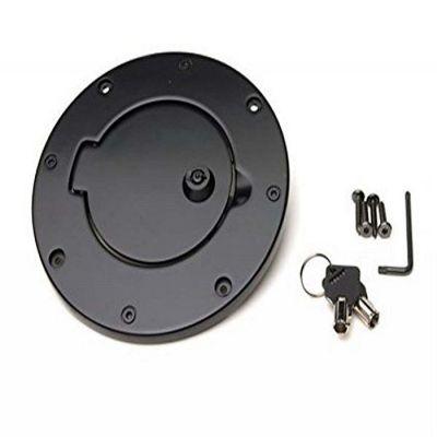 Tapa De Gasolina Aluminio Con Seguro para Jeep Wrangler Modelos 07-18