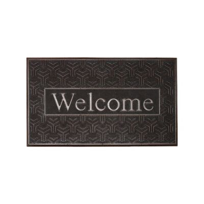 Tapete Welcome Steel 45x75 cm