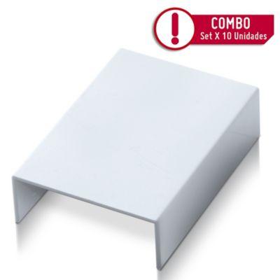 Accesorio Canaleta 40X16cm Unión | Paquete X 10