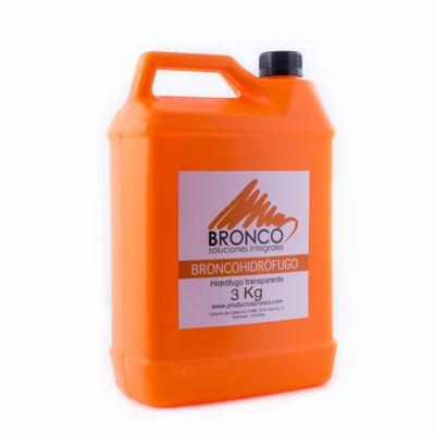 BroncoHidrófugo Transparente 3 Kilos