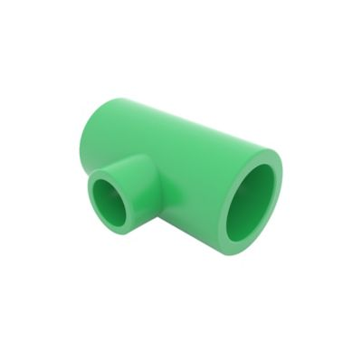 Te Reducida H-H-H 25 x 20 x 25 mm Agua Caliente