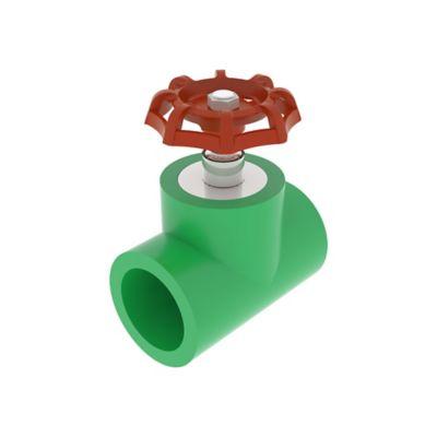 Registro Paso Pp Cortina 32 mm Agua Caliente