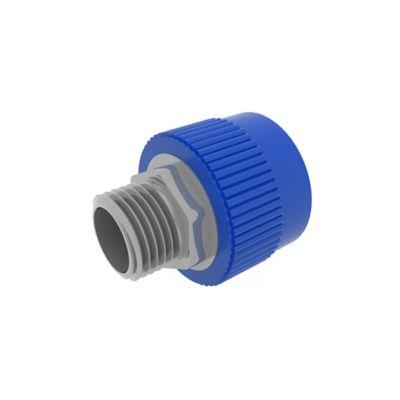 Unión Hembra-Macho 25 mm x 3/4 pulg Inserto Metal Agua Fría