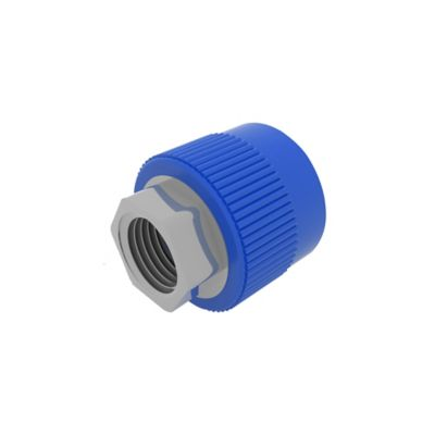 Unión  Hembra 40 mm x 1 1/4 pulg Inserto Metal