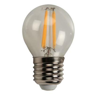 Mini Globo Led Filamento 4w Dimerizable E27 Luz Amarilla