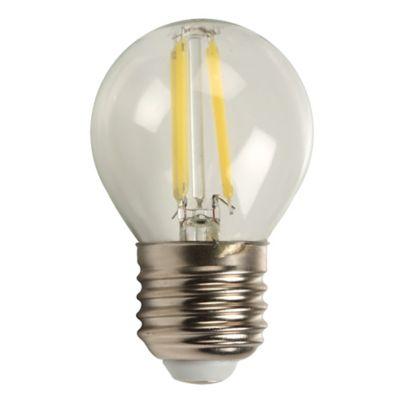 Mini Globo Led Filamento 4w Dimerizable E27 Luz Blanca