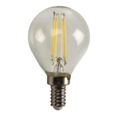 Mini Globo Led Fil 4w Dimerizable E12 Luz Blanca
