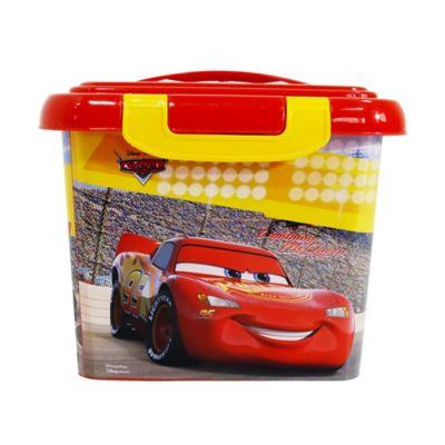 Caja Infantil Tapa Broche Cars 17x21x24 cm 4 Lt