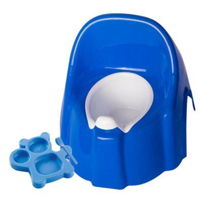 Combo Bacinilla de Lujo Azul + Set para Bebé