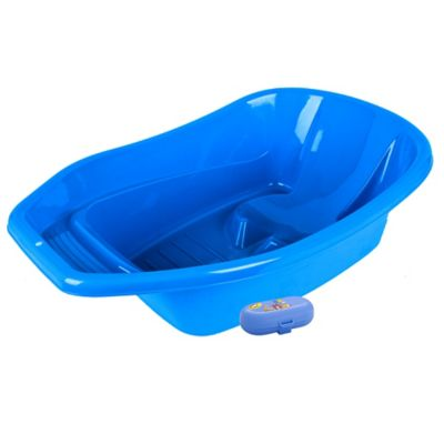 Combo Bañera Azul + Jabonera Infantil