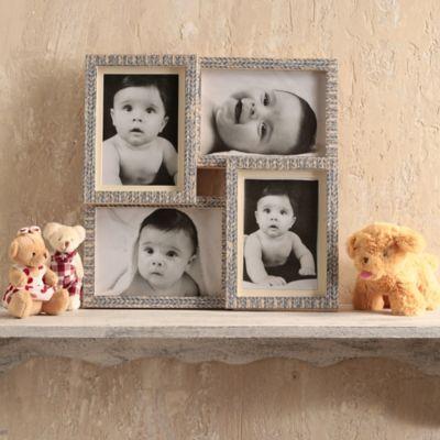 Collage x4 Portaretrato Gris 10x15 cm