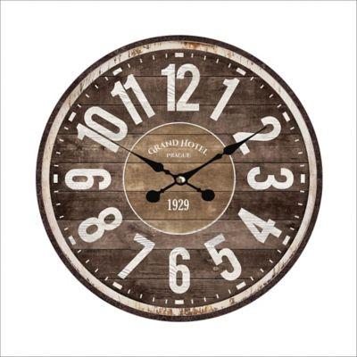 Reloj Pared 33,8 cm Café Texas