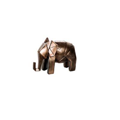 Escultura Elefante 12,5 cm Cobre Arabia