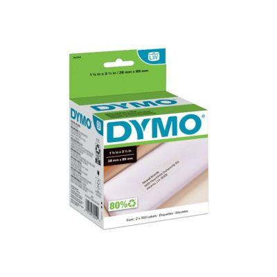 Etiquetas LW Blanca 28mmx89mm Dymo Papel