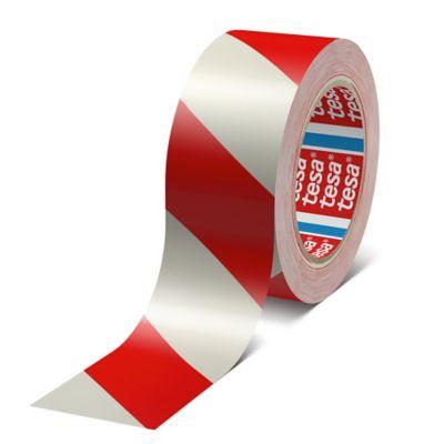Cinta De Marcación Rojo Blanco 33mtx50mm Caja X 6 Rollos