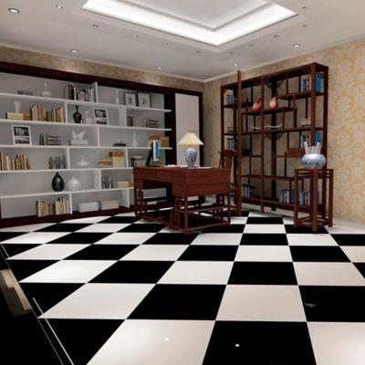 Piso Porcelanato Súper Negro 60x120 cm caja 1.44 m2