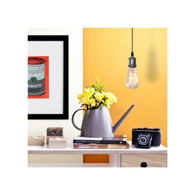 Lámpara Colgante Vintage 1Luz E27 Cromado